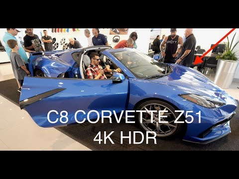 C8 Corvette Z51 - Every Square Inch in 4K!