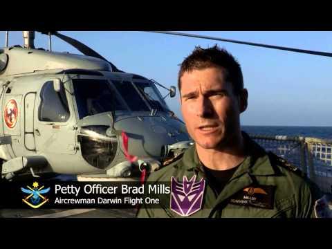 HMAS Darwin Has Eyes In The Sky