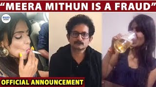 Meera Mithun Decrowned - Ajith Ravi Producer of Miss South India