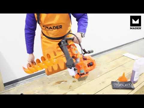 Taladro de Tierra - 49cc | MADER | en Español