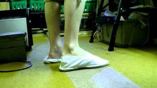 loose white espadrilles