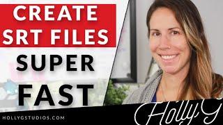 Wie Erstellen Sie SRT-Dateien Super Schnell