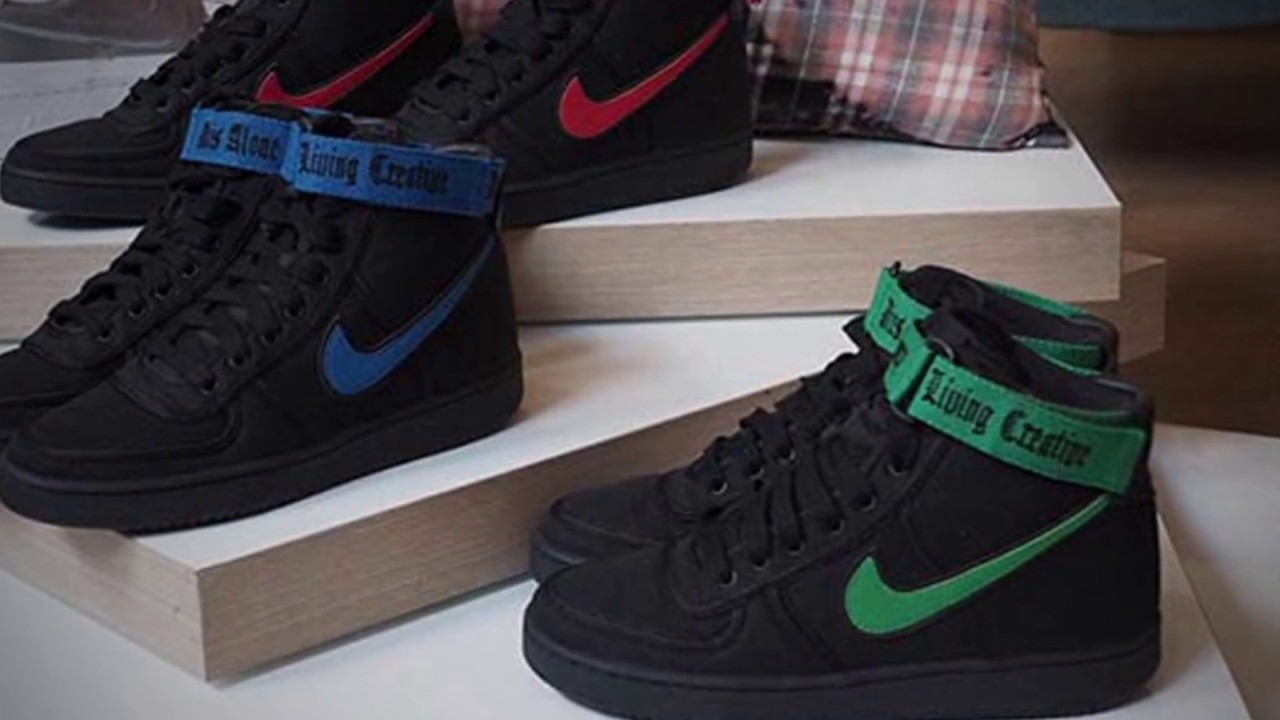 93519187b vlone x nike vandal high collection