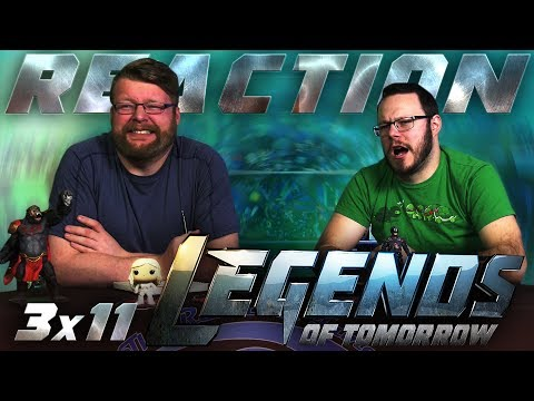 "Legends of Tomorrow 3x11 REACTION!! ""Here I Go Again"""