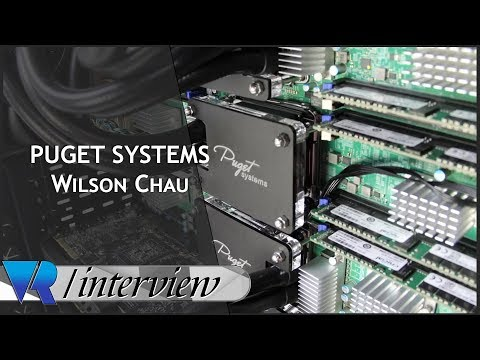 GTC 2018: Building VR Rigs With Puget Systems