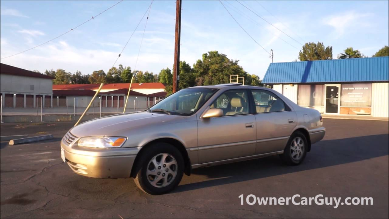 1998 toyota camry xls sedan loaded for sale video review