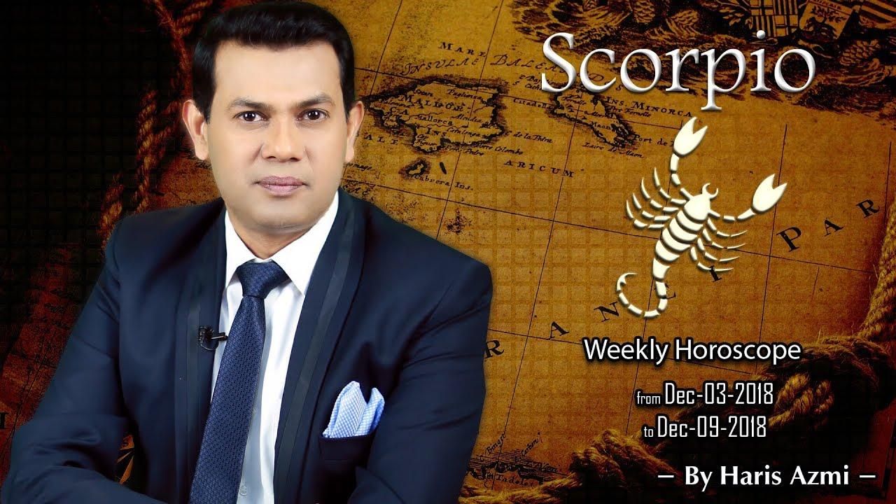 scorpio weekly horoscope from 27 december 2019