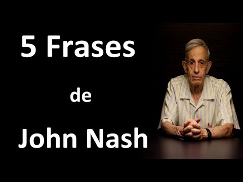 5 Frases De John Nash Youtube