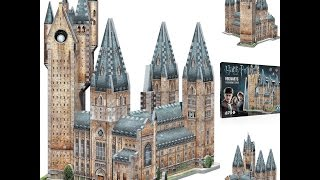 3D Puzzle Harry Potter Hogwarts Astronomy Tower Jigsaw Castle Games Toys Gift