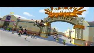 Jimmy Neutrons Nicktoons Blast Ride Footage