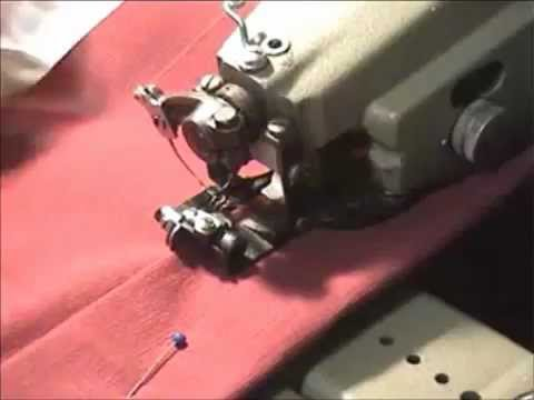 Blind Hemming / Felling Machine