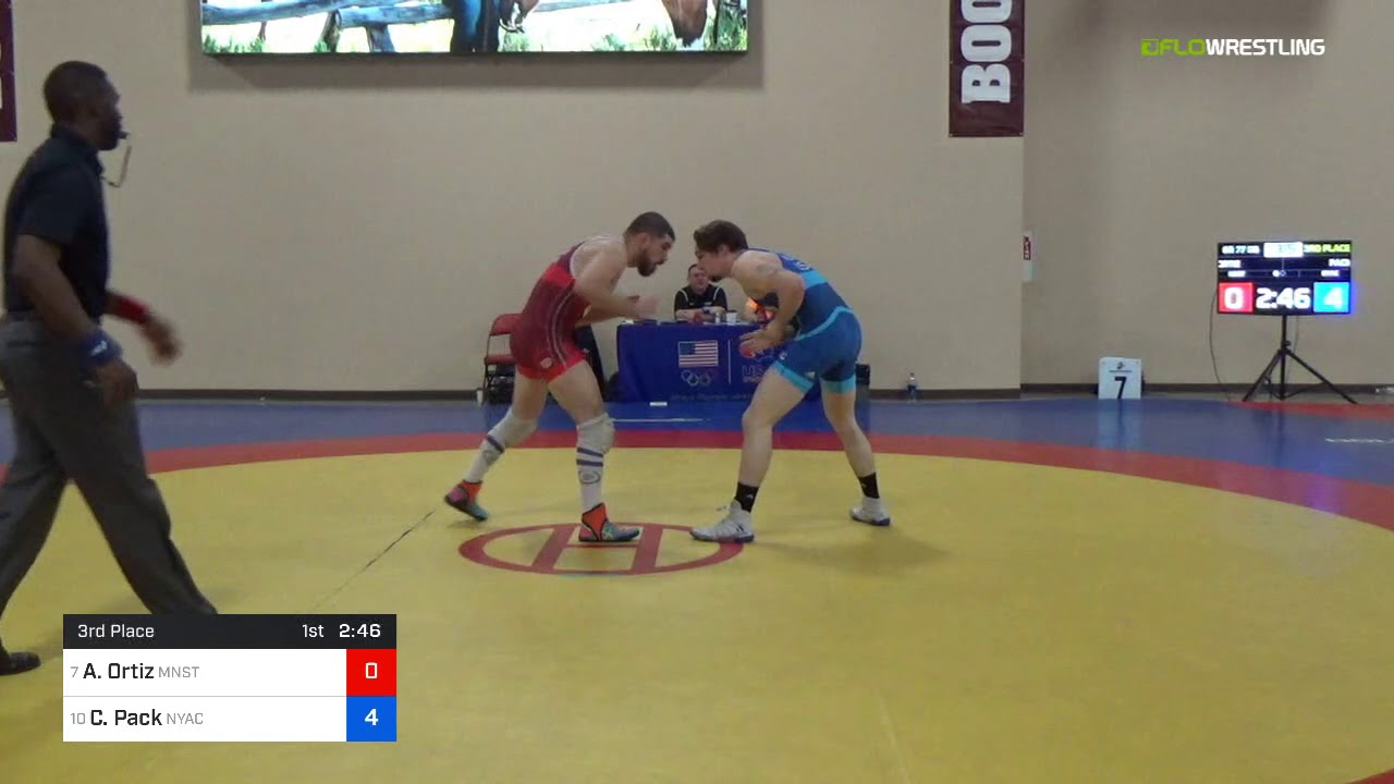 2018 Marine Corps US Open/Senior Men\'s Freestyle 74 Con 4 - Carson ...