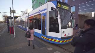 Netherlands, tram 5 ride from Amsterdam Zuid to Amstelveen Stadshart