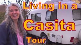 Karen Living in a Casita Travel Trailer