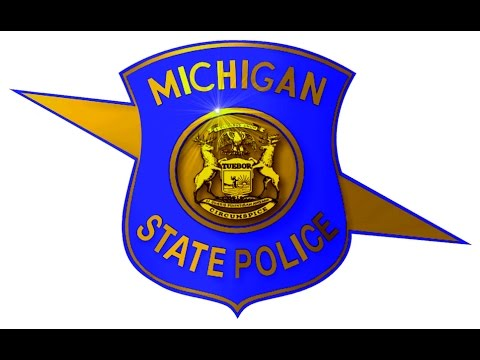 Michigan State Police Cause Accident