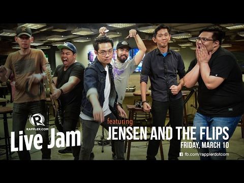 Rappler Live Jam: Jensen and the Flips