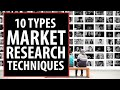 10 Types of Market Research Techniques to Identify Potential Customers