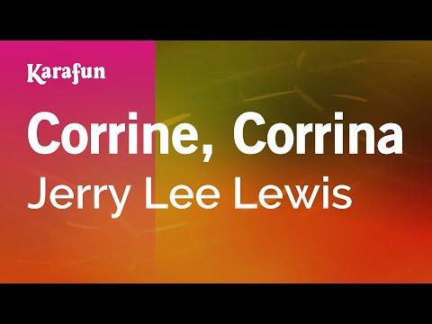 Karaoke Corrine, Corrina - Jerry Lee Lewis *
