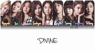 Gambar cover GIRLS' GENERATION (少女時代) SNSD – DIVINE Lyrics Color Coded [Eng/Kan/Rom]