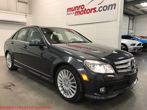 2010 Mercedes-Benz C250 SOLD SOLD SOLD  4MATIC AWD Sunroof Low 70 kms