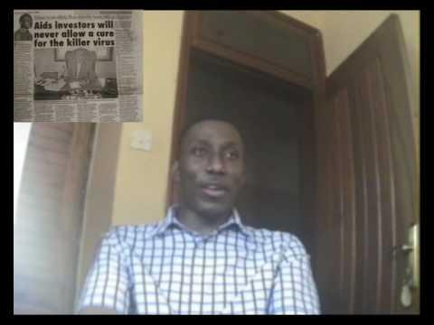 "Roger Mugisha - Fighting ""AIDS"" = funding ""AIDS"" part 1 of 3"