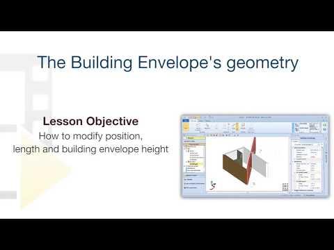 Edificius Tutorial - Building envelope's geometry - ACCA software