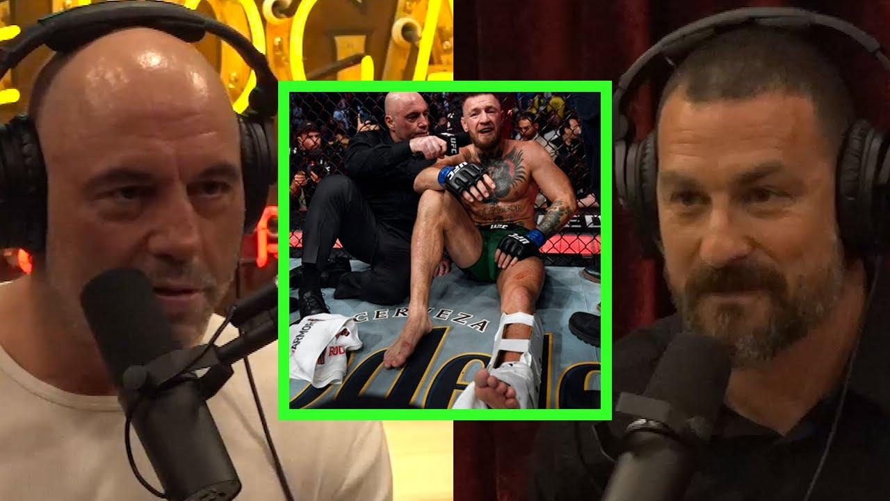 Download Joe on Conor McGregor's Leg Break