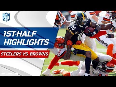 steelers-vs.-browns-first-half-highlights- -nfl-week-1