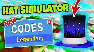 ROBLOX HAT SIMULATOR CODES - All Working Codes