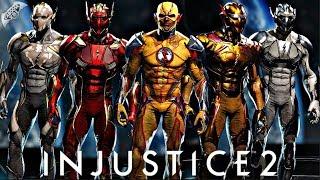 Injustice 2 Online - THE FLASH VILLAINS UNITE!