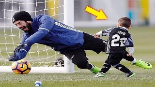 FUNNY KIDS IN FOOTBALL ● FAILS, SKILLS, GOALS #3