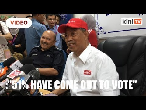 muhyiddin:-voter-turnout-at-51%,-some-provocations-but-nothing-else-out-of-the-ordinary