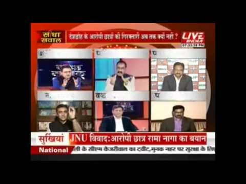 Top lawyer of India, Dr. Surat Singh on JNU issue on LIVE INDIA TV-Part-II