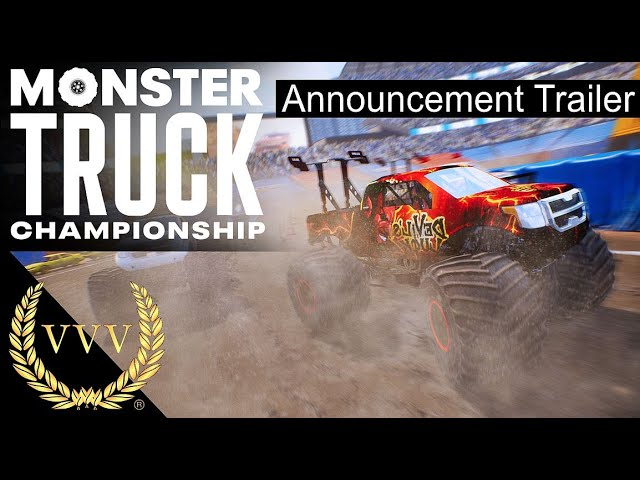 Monster Truck Championship, Announcement Trailer