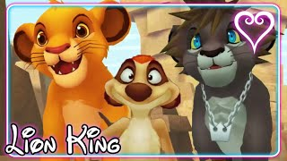 Kingdom Hearts 2 All Cutscenes | The Lion King ~ Pride Lands