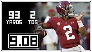 Jalen Hurts Full Highlights Alabama vs Arkansas State || 9.08.18 || 93 Yards, 2 TDs
