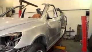 видео кузовной ремонт шкода