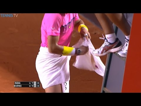 Crazy Changeover Moments of 2016 Starring Serena, Grigor Dimitrov, Roger Federer
