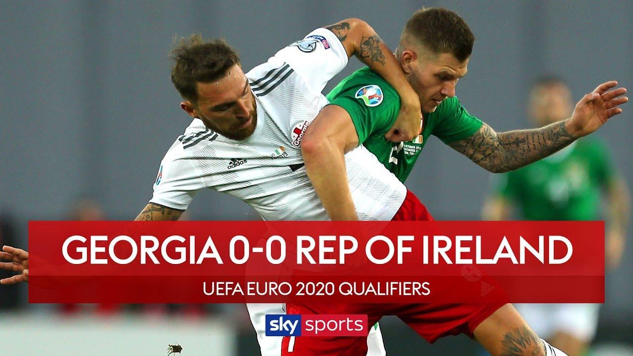 Republic of Ireland held by Georgia! | Georgia 0-0 Republic of Ireland | UEFA Euro 2020 Qualifiers