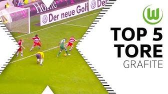 Top 5 Tore - Grafite (inkl. Tor des Jahres vs. Bayern München)   VfL Wolfsburg