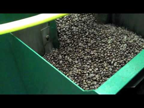 Roasting coffee at Great Northern Coffee Company in Jackson Hole, Wyoming.
