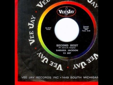 Barbara Jackson - SECOND BEST  (1963)