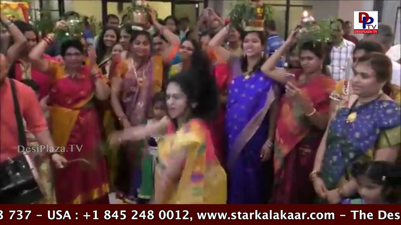Exclusive visuals of Bonalu celebrations from Houston on desiplaza TV