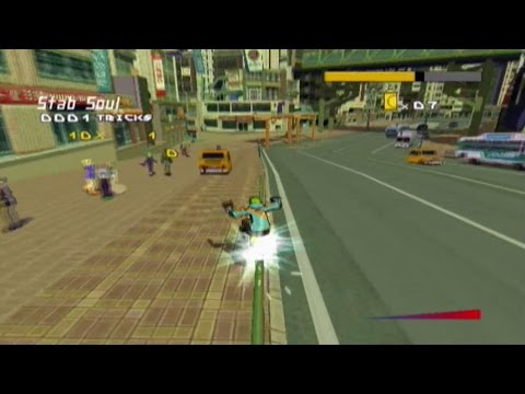 Jet Set Radio Future (Xbox) gameplay