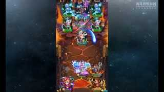 TOP CARD RPG/ Dungeon tutorial /mobile card battle game-wukung/oddessy