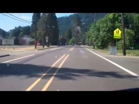 Main St  Canyonville, Oregon