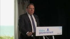Mise à jour du Québec sur la COVID-19 : Le PM François Legault à Baie-Comeau – 17 juillet 2020