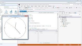 Visual Studio | Analog Clock in C#
