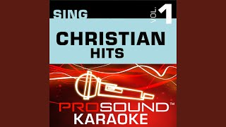 El Shaddai (Karaoke with Background Vocals) (In the Style of Amy Grant)