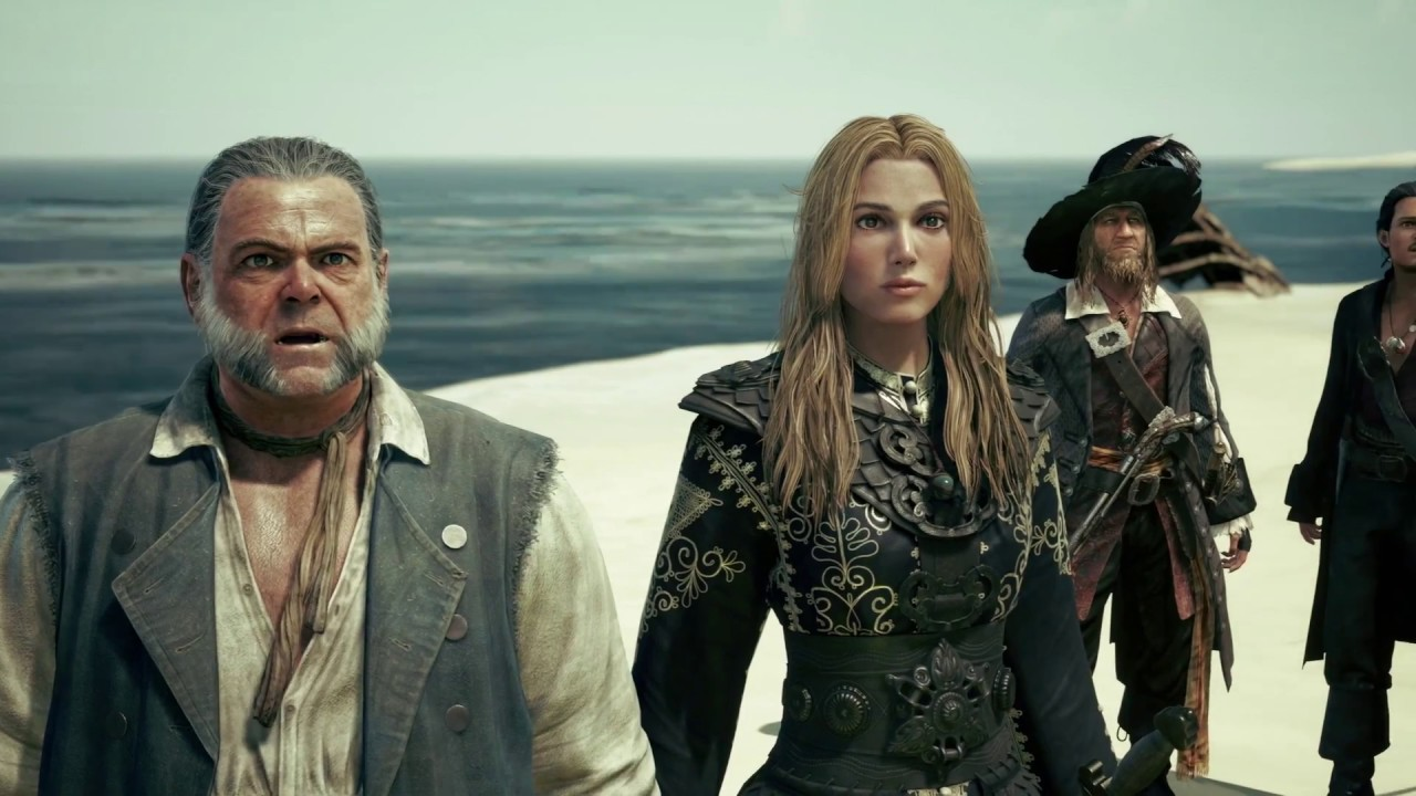 Kingdom Hearts 3 - Pirates of the Caribbean Reveal Trailer